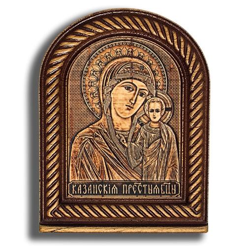 Киот малый №2 - Казанская Божья Матерь КТ-22901