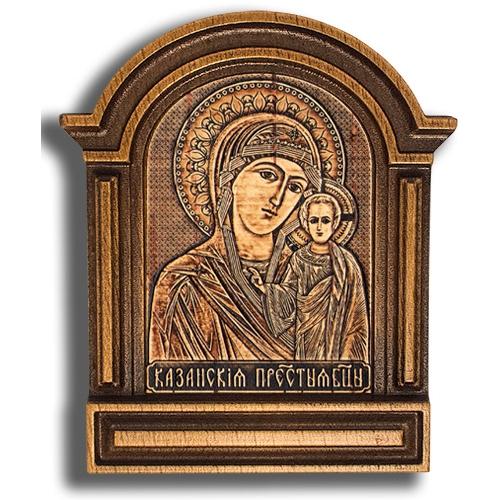 Киот малый №3 - Казанская Божья Матерь КТ-22902