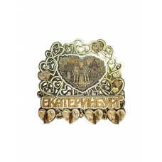 Ключница Сердце накладка из бересты Екатеринбург-Коллаж