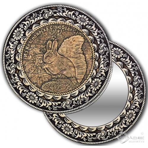 Зеркало круглое без ручки Красноярск-Белка