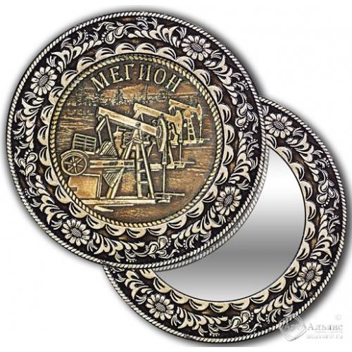 Зеркало круглое без ручки Мегион-Качалка