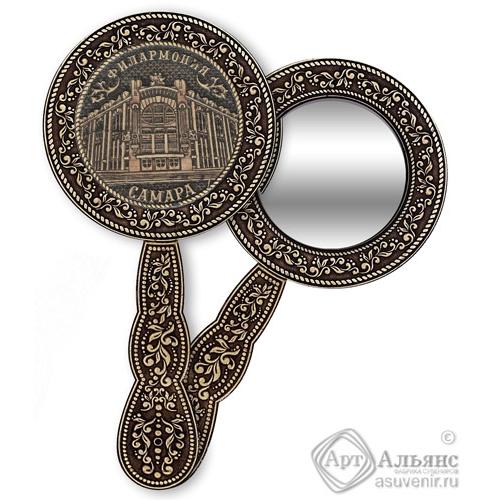Зеркало круглое с ручкой Самара-Филармония