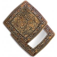 Зеркало квадратное Тамбов-Пара волков