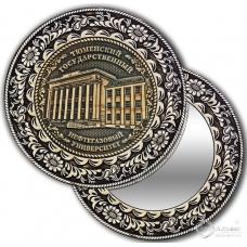 Зеркало круглое без ручки Тюмень-Нефтегазовый университет