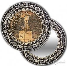 Зеркало круглое без ручки Тюмень-Памятник маме