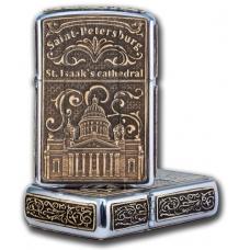 Зажигалка бензиновая Санкт-Петербург-Исаакиевский собор(англ)